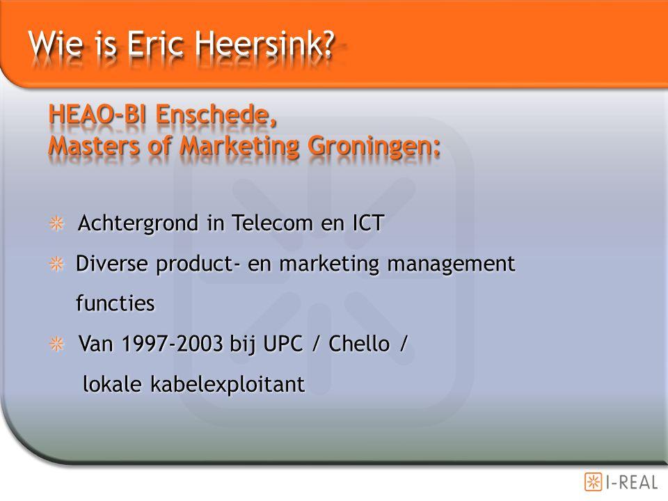 Wie is Eric Heersink HEAO-BI Enschede,