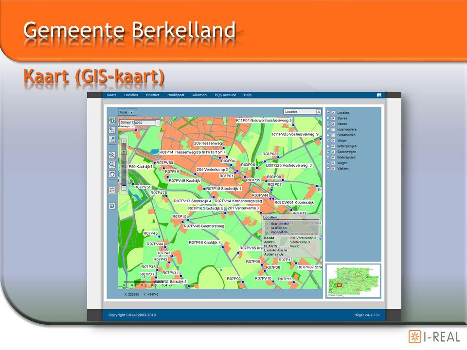 Gemeente Berkelland Kaart (GIS-kaart)