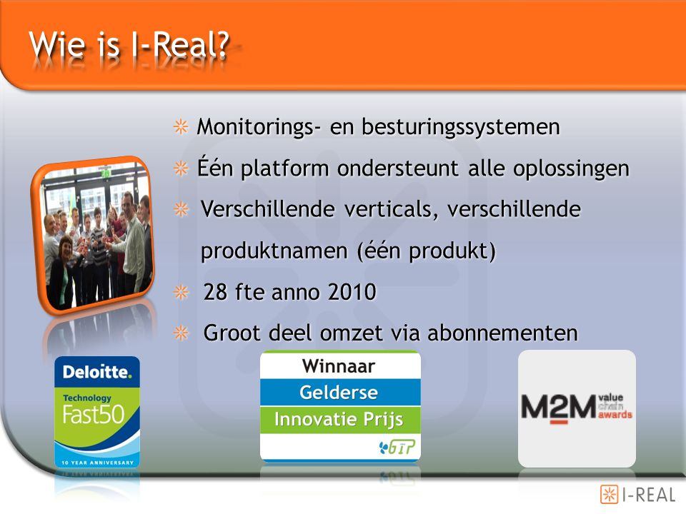 Wie is I-Real Monitorings- en besturingssystemen