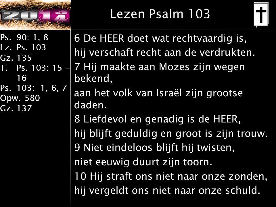 Lezen Psalm 103