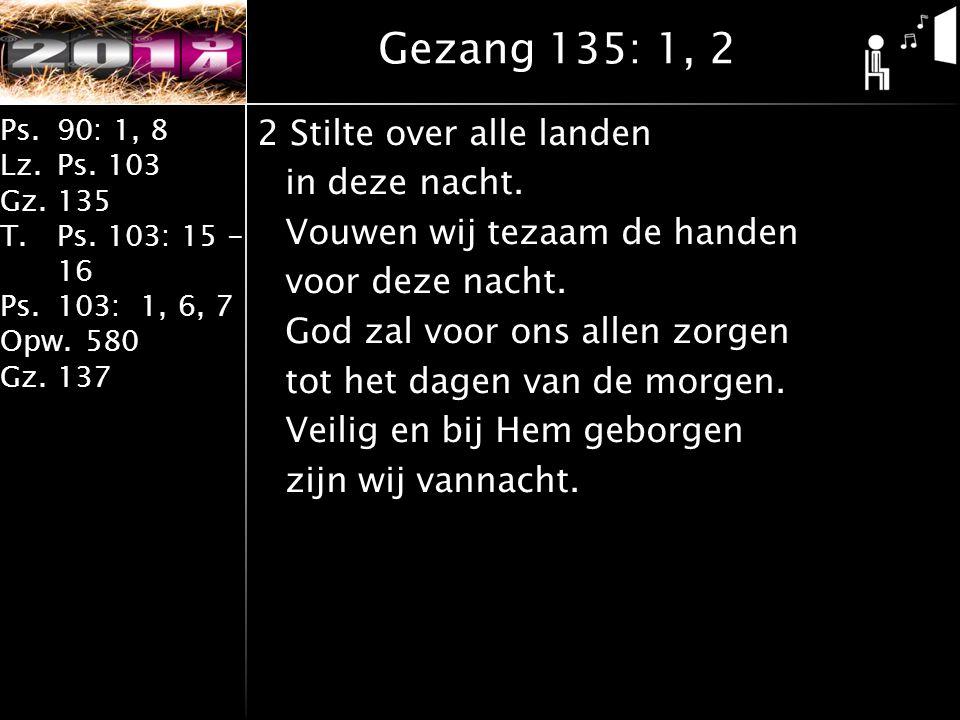 Gezang 135: 1, 2
