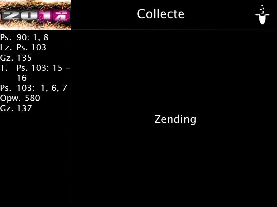Collecte Zending
