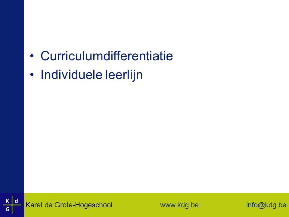 Curriculumdifferentiatie