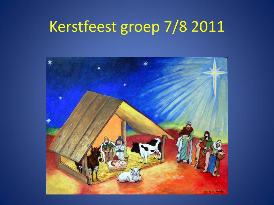 Kerstfeest groep 7/8 2011