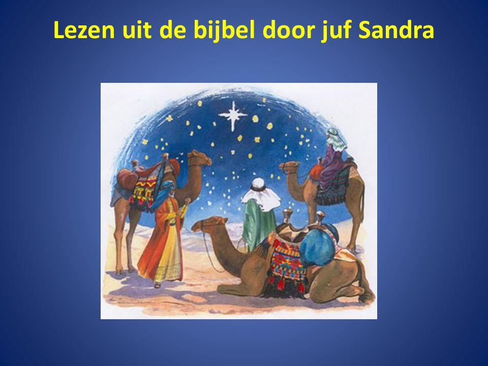 Lezen uit de bijbel door juf Sandra