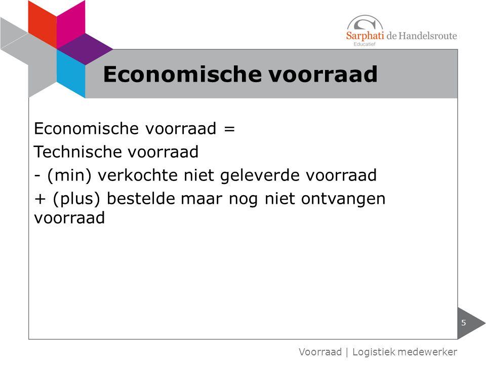 Economische voorraad