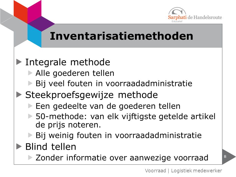 Inventarisatiemethoden