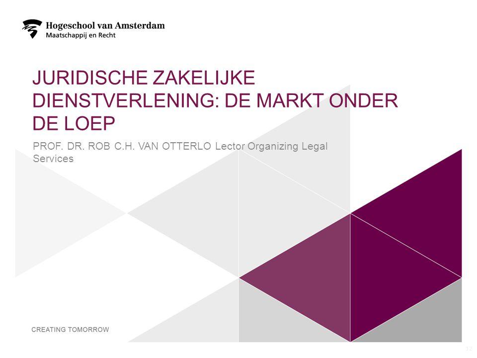 JURIDISCHE ZAKELIJKE DIENSTVERLENING: DE MARKT ONDER DE LOEP