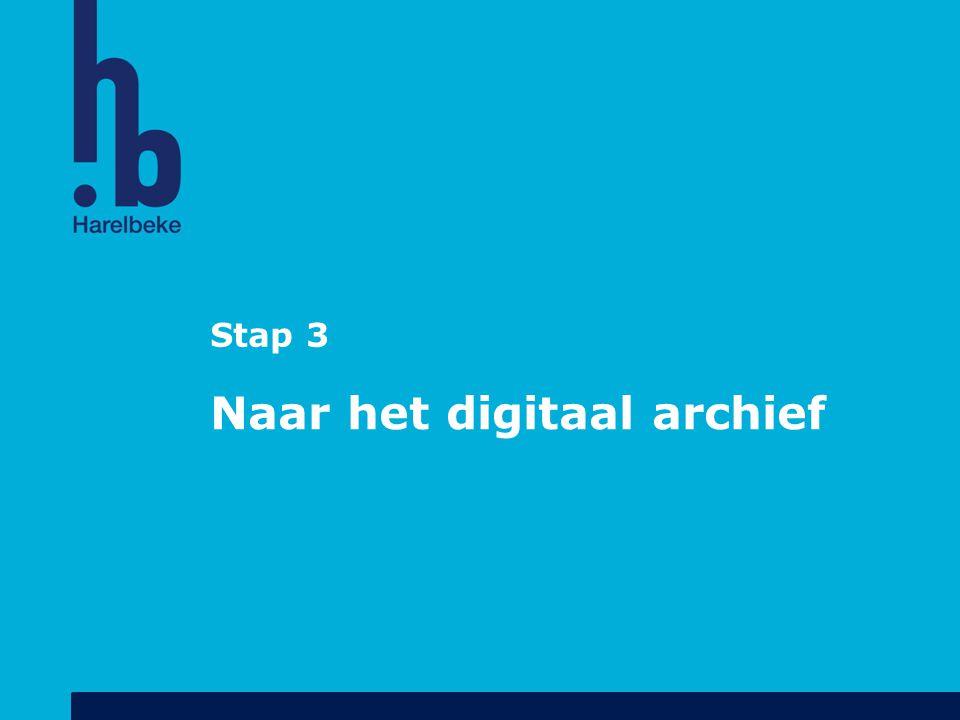 Naar het digitaal archief