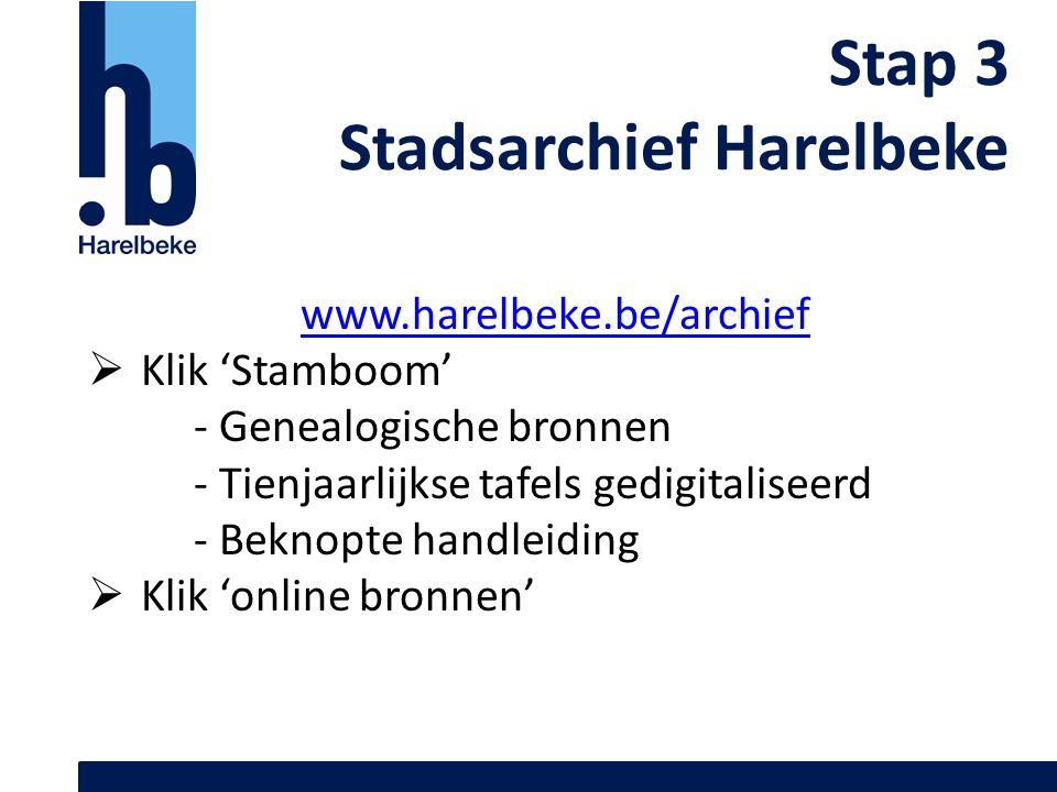Stadsarchief Harelbeke