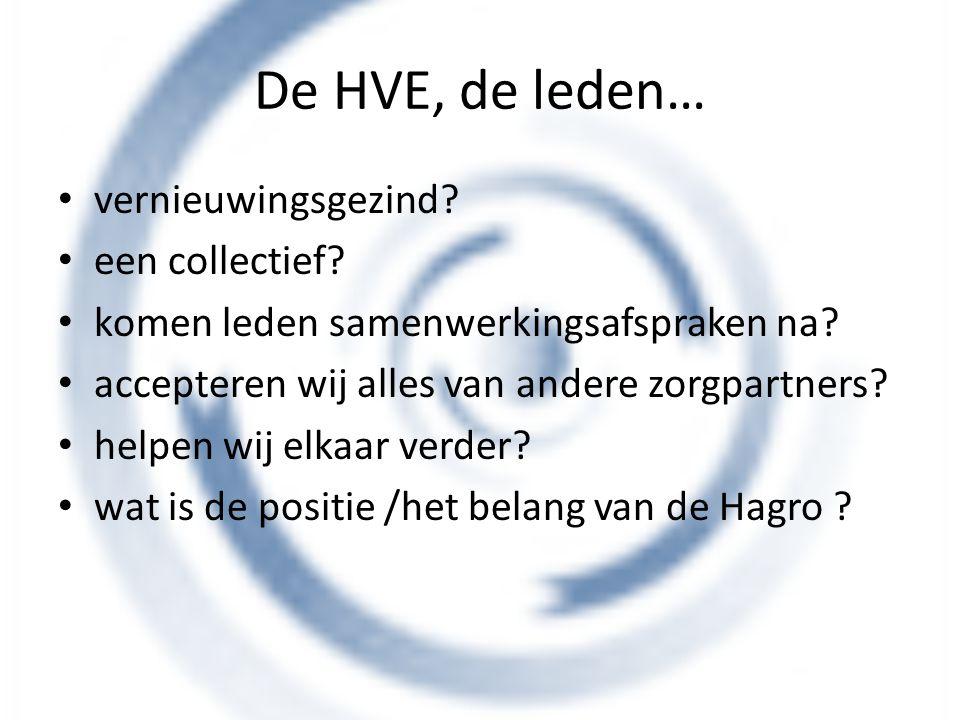 De HVE, de leden… vernieuwingsgezind een collectief