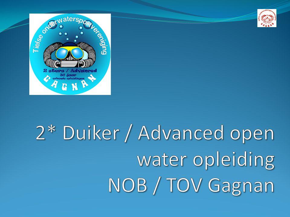 2* Duiker / Advanced open water opleiding NOB / TOV Gagnan