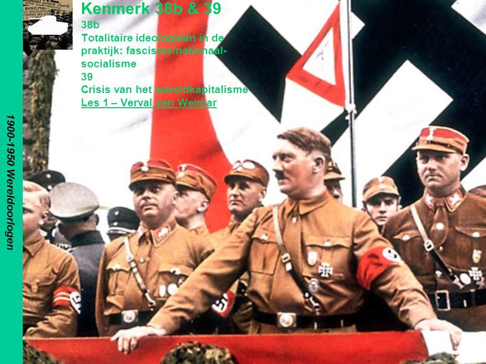 1900-1950 Wereldoorlogen