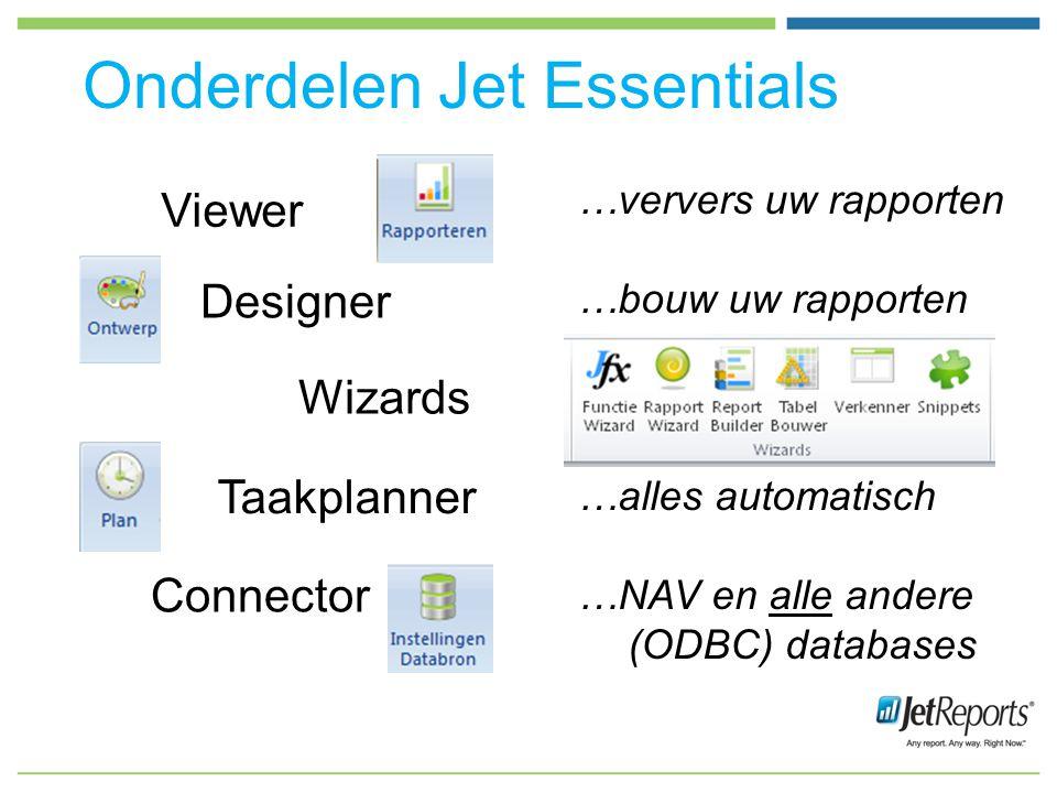 Onderdelen Jet Essentials