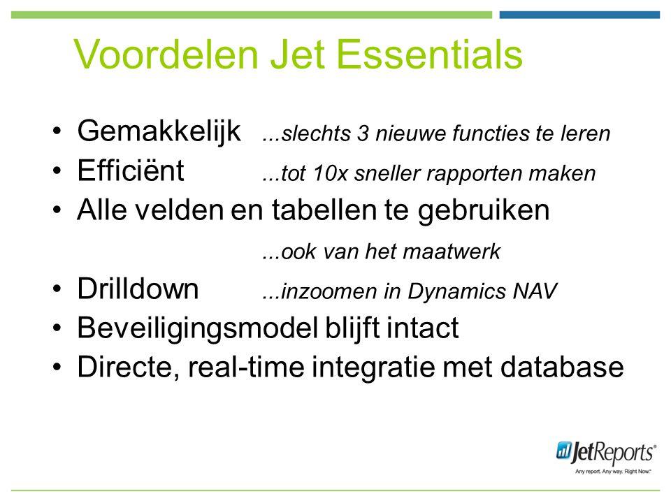 Voordelen Jet Essentials