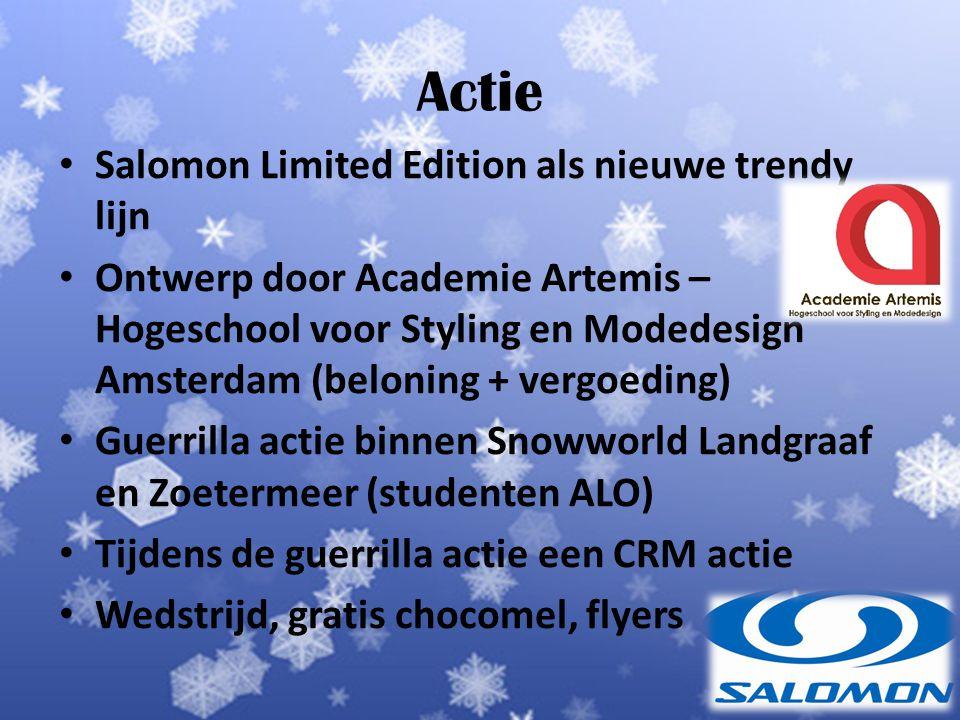 Actie Salomon Limited Edition als nieuwe trendy lijn