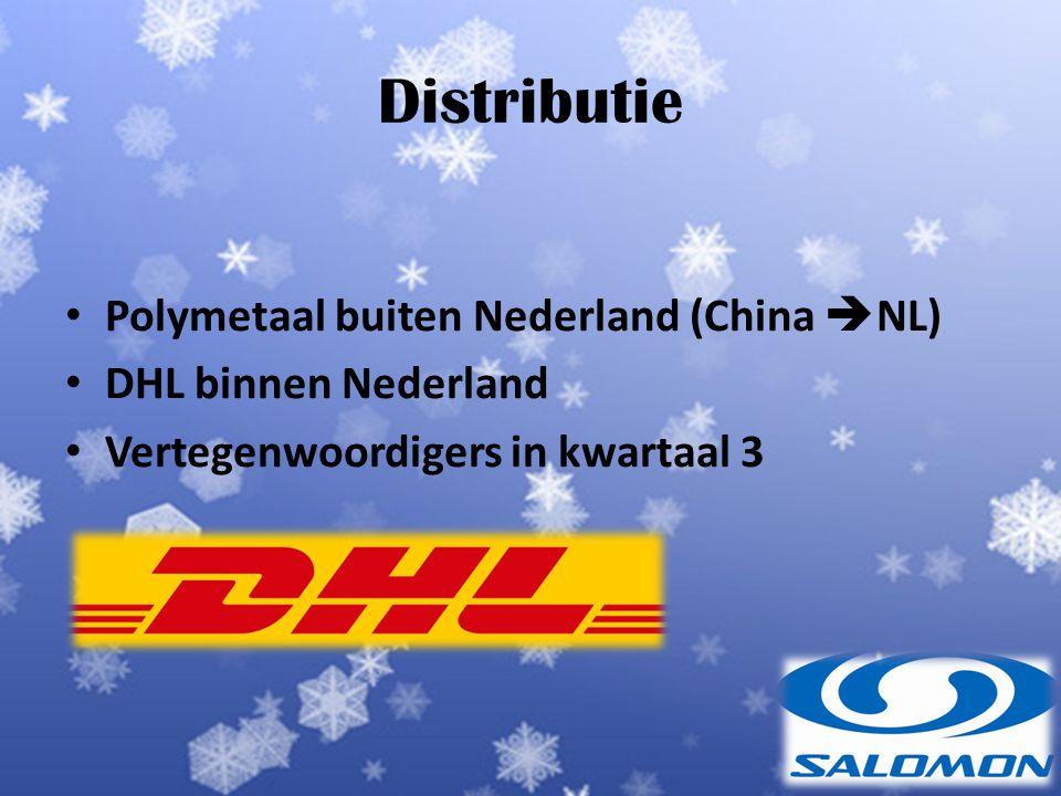 Distributie Polymetaal buiten Nederland (China NL)