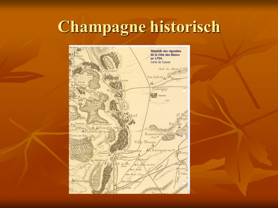 Champagne historisch
