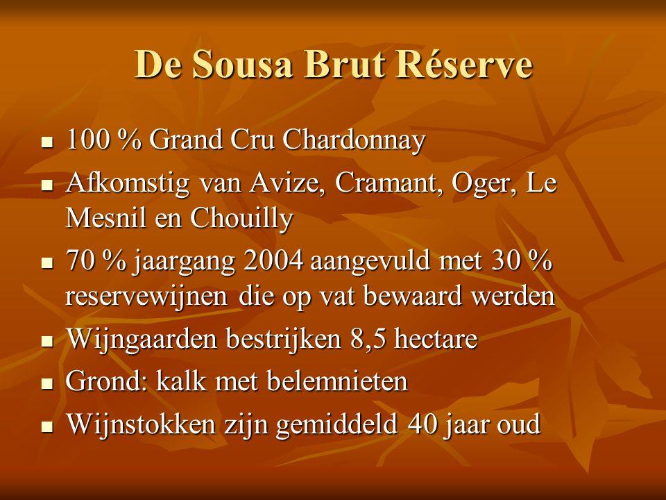 De Sousa Brut Réserve 100 % Grand Cru Chardonnay