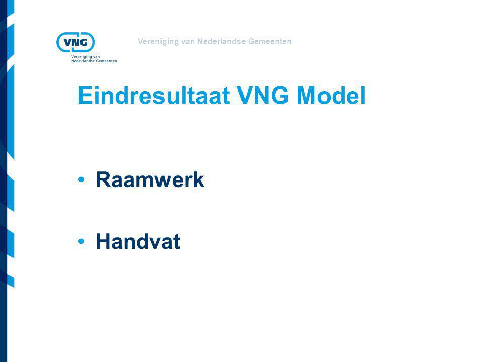 Eindresultaat VNG Model