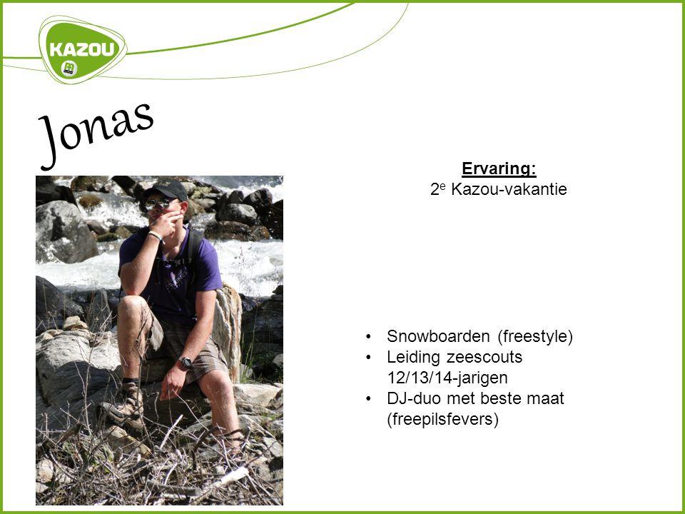 Jonas Ervaring: 2e Kazou-vakantie Snowboarden (freestyle)