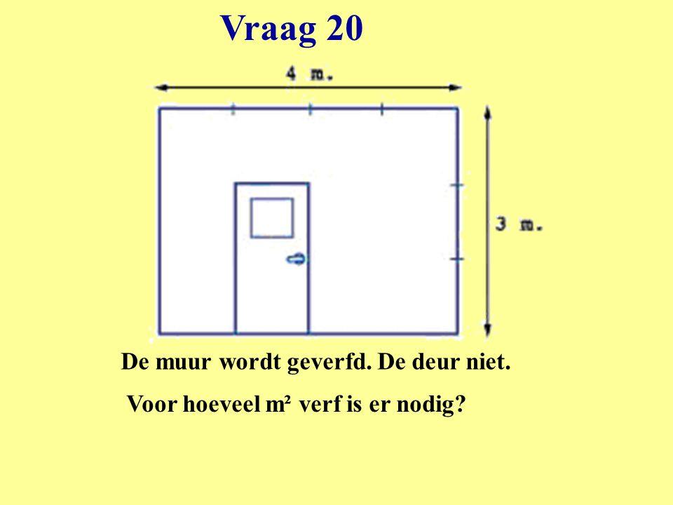 Voor hoeveel m² verf is er nodig
