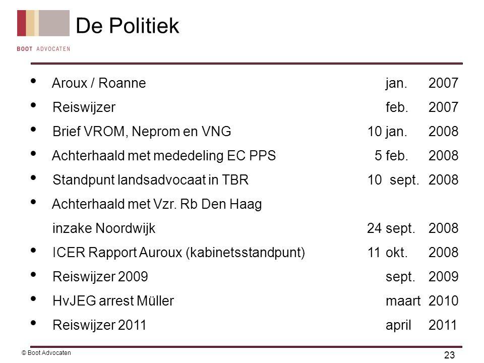 De Politiek Aroux / Roanne jan. 2007 Reiswijzer feb. 2007