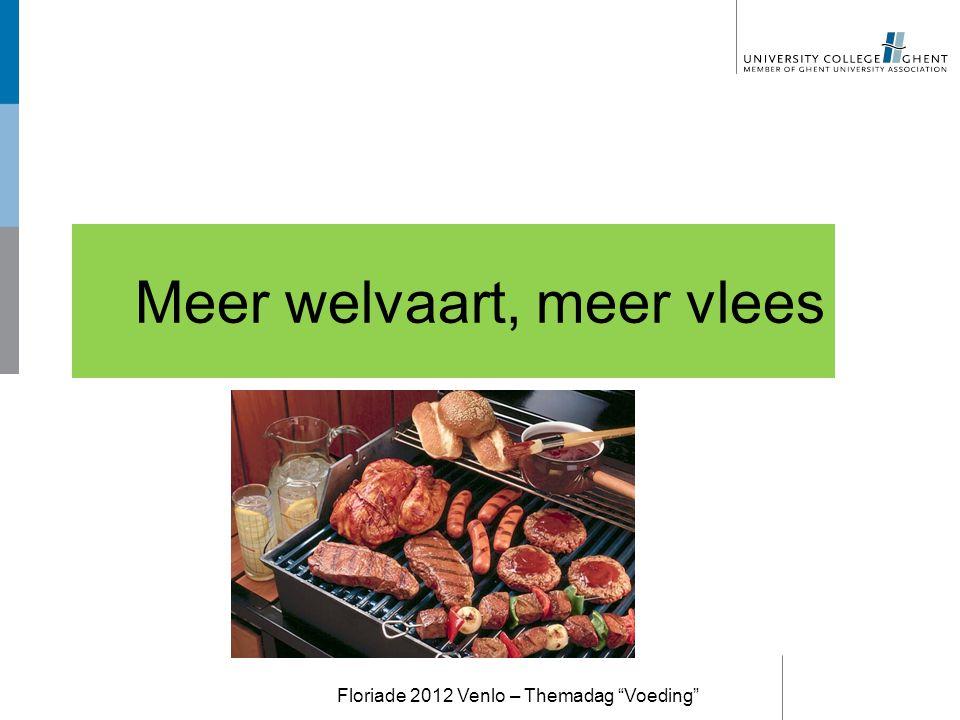 Meer welvaart, meer vlees