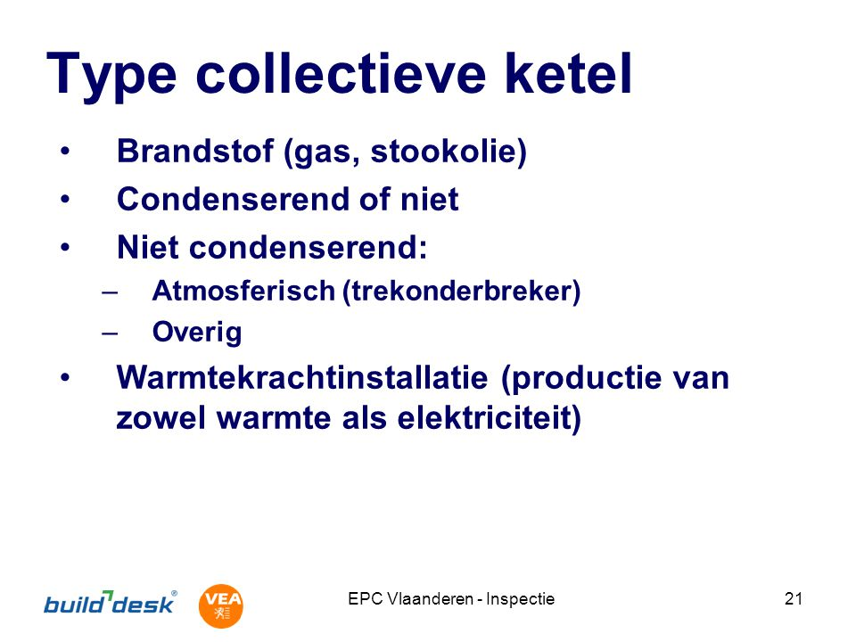 Type collectieve ketel