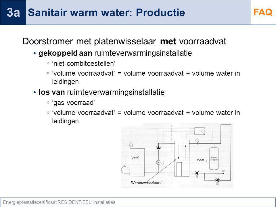 Sanitair warm water: Productie