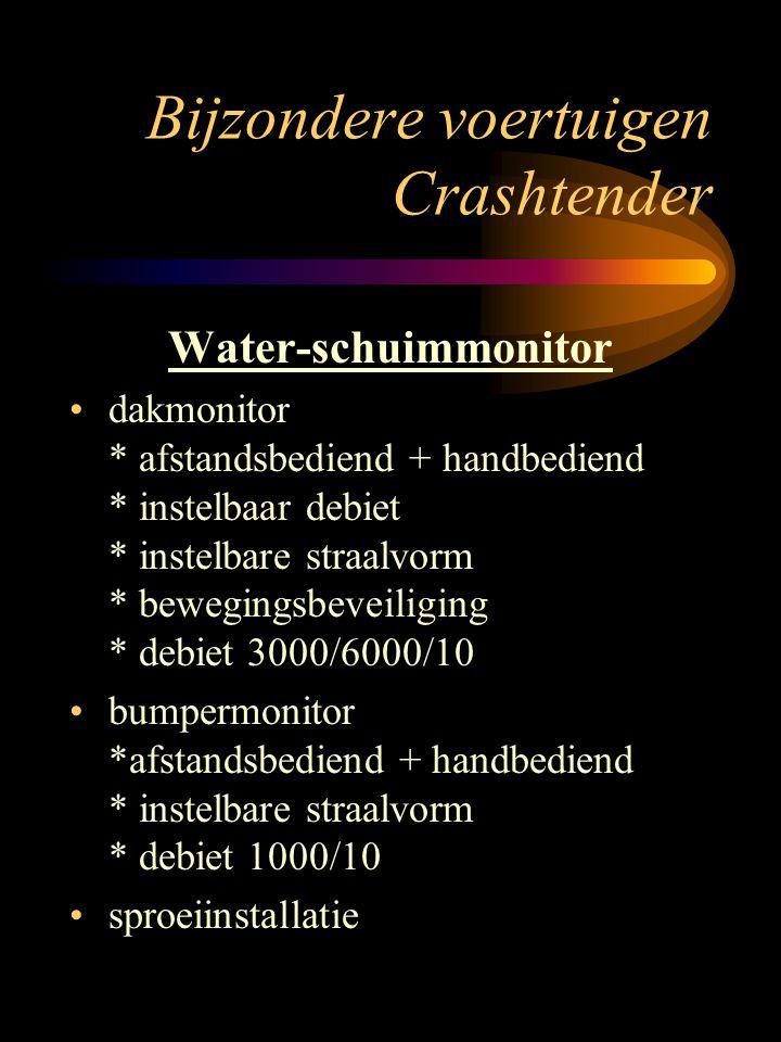 Bijzondere voertuigen Crashtender