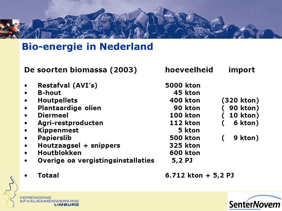 Bio-energie in Nederland