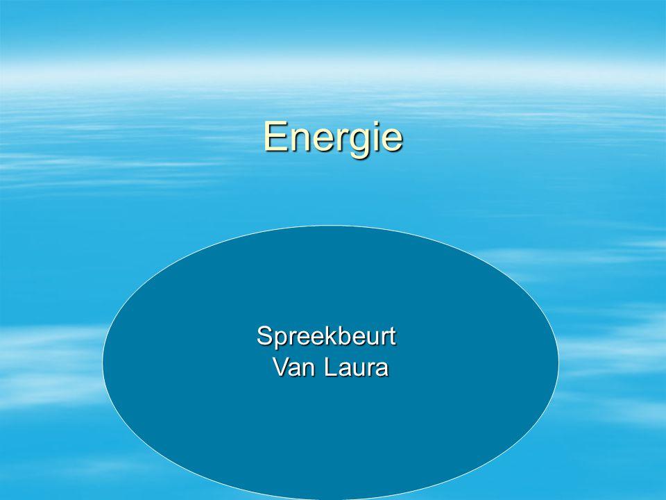 Energie Spreekbeurt Van Laura Spreekbeurt Van Laura
