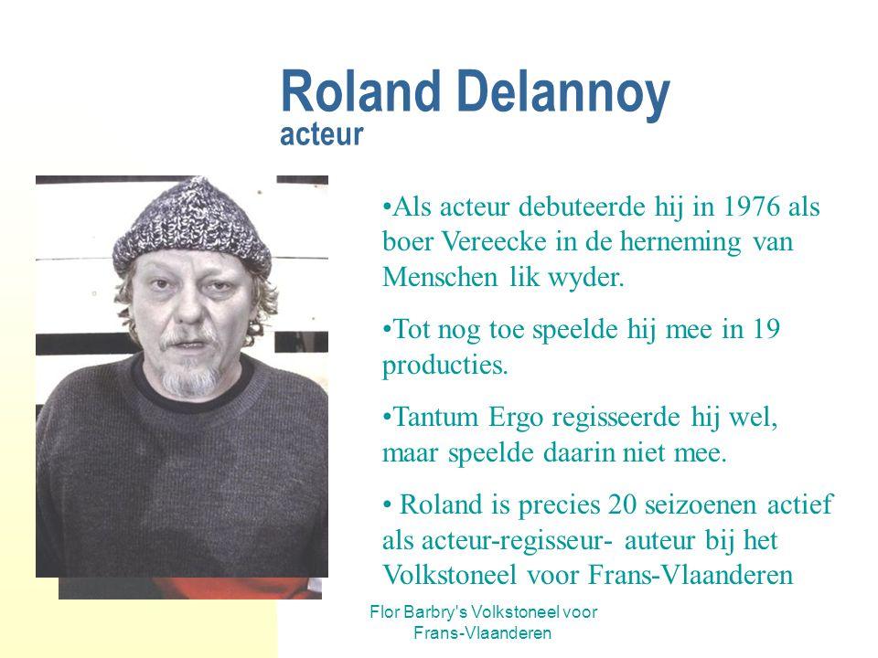 Roland Delannoy acteur