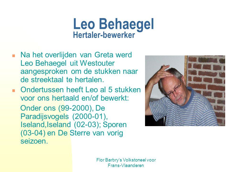 Leo Behaegel Hertaler-bewerker