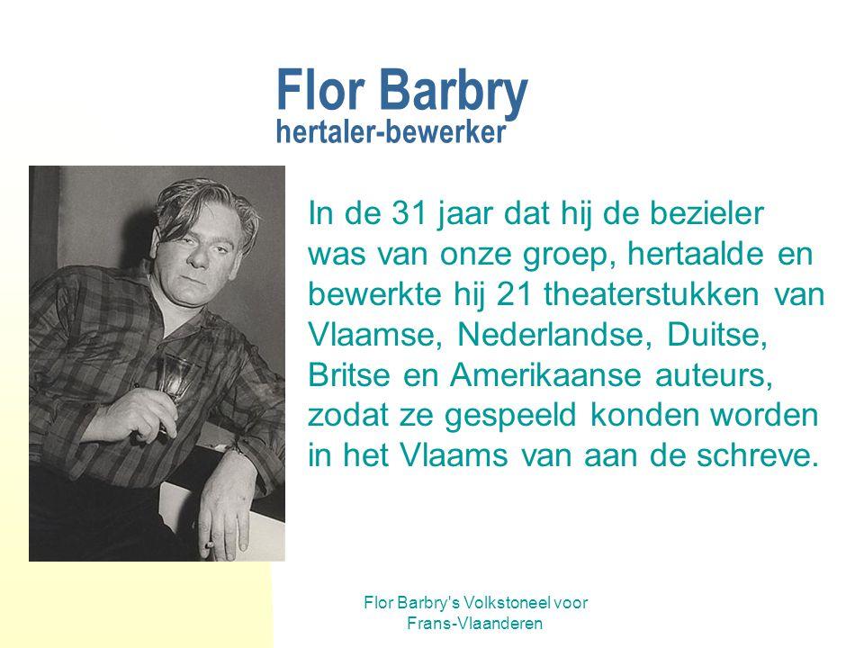 Flor Barbry hertaler-bewerker