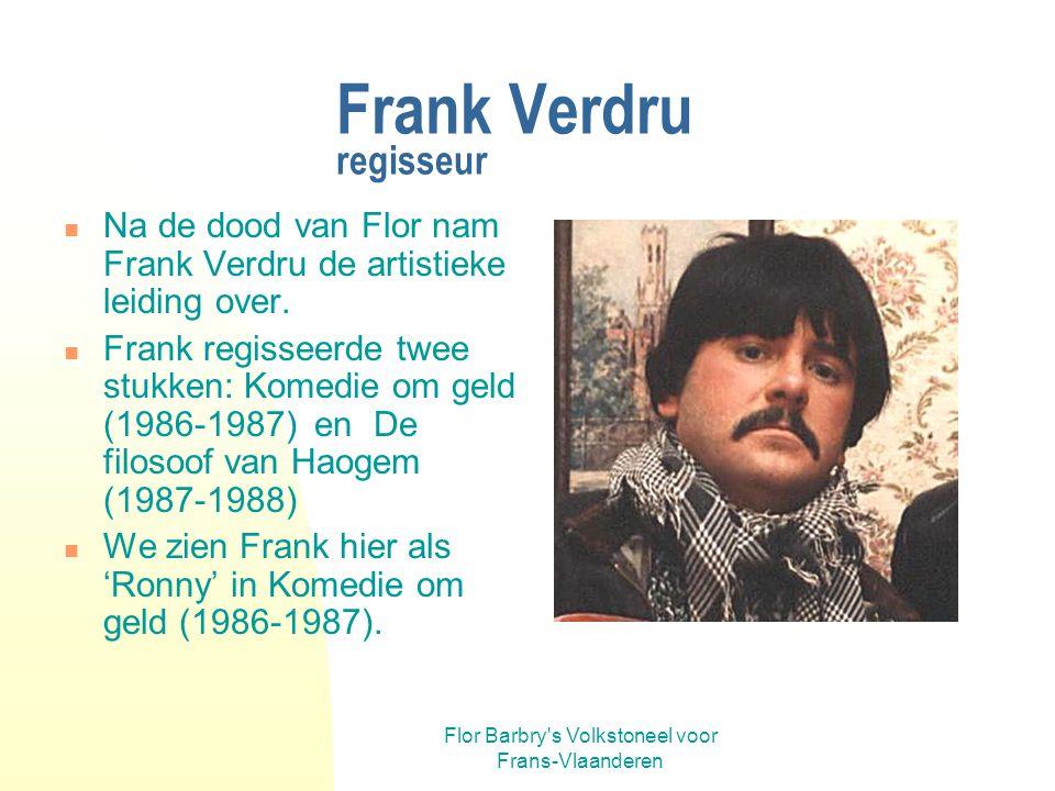 Frank Verdru regisseur