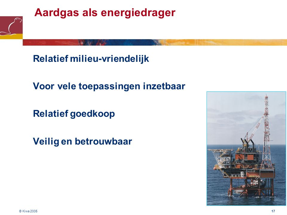Aardgas als energiedrager