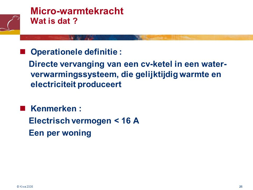 Micro-warmtekracht Wat is dat