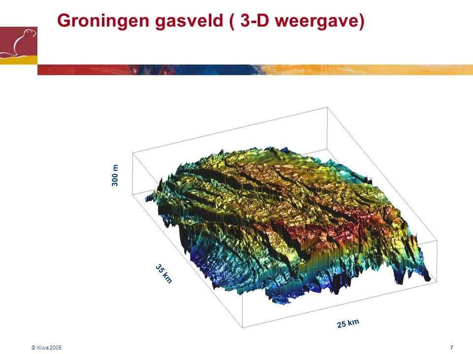 Groningen gasveld ( 3-D weergave)