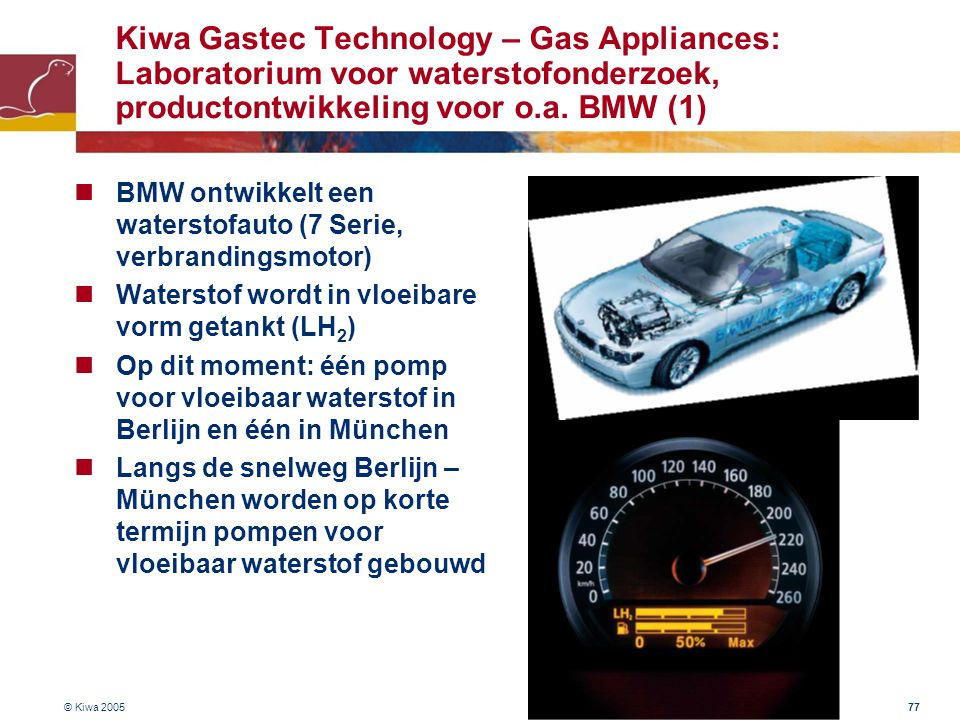 Kiwa Gastec Technology – Gas Appliances: Laboratorium voor waterstofonderzoek, productontwikkeling voor o.a. BMW (1)