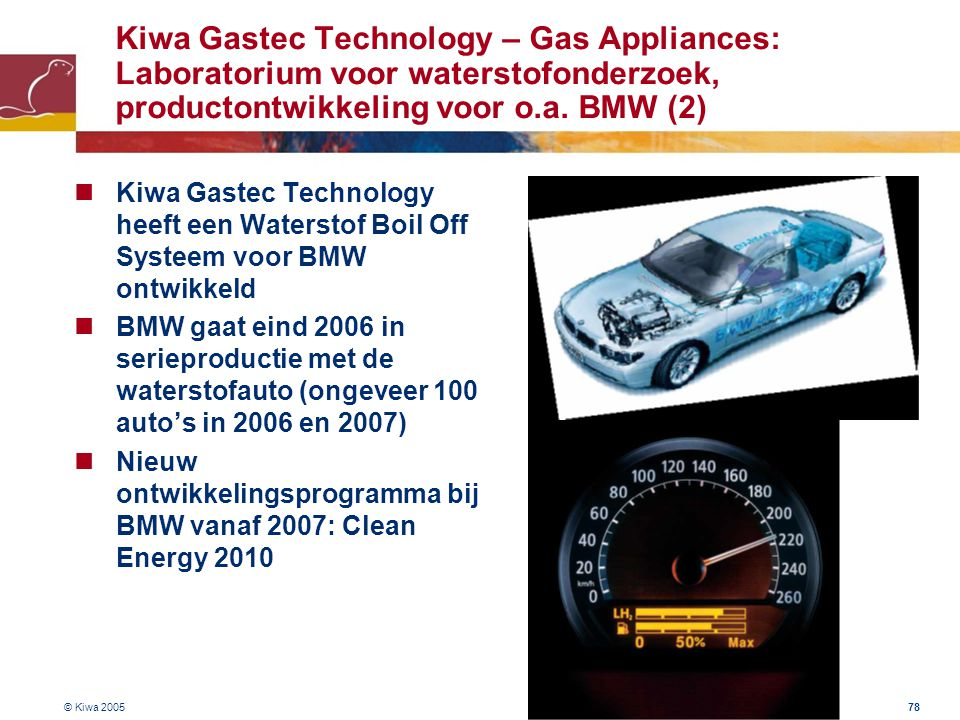 Kiwa Gastec Technology – Gas Appliances: Laboratorium voor waterstofonderzoek, productontwikkeling voor o.a. BMW (2)