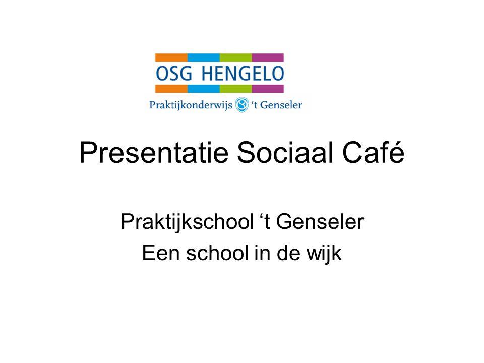 Presentatie Sociaal Café