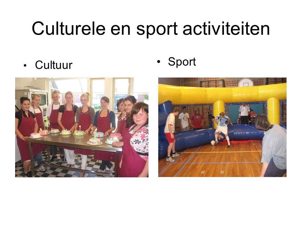 Culturele en sport activiteiten