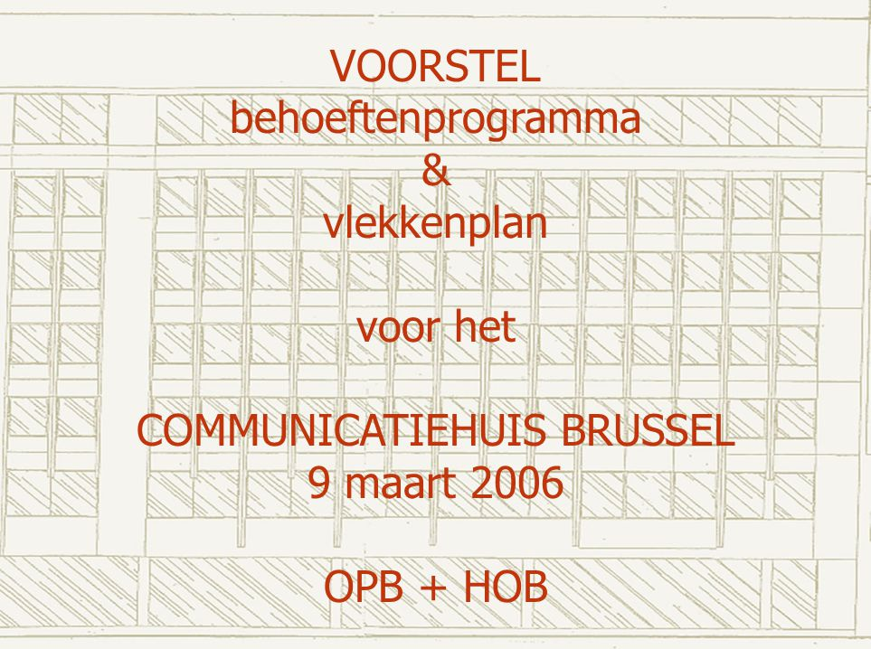 COMMUNICATIEHUIS BRUSSEL