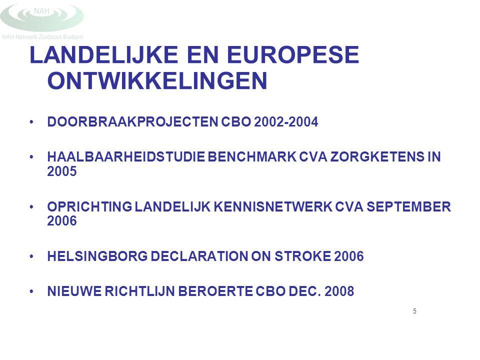 LANDELIJKE EN EUROPESE ONTWIKKELINGEN