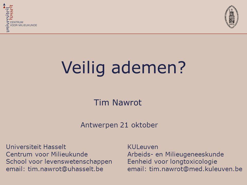 Tim Nawrot Antwerpen 21 oktober