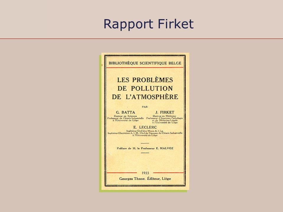 Rapport Firket