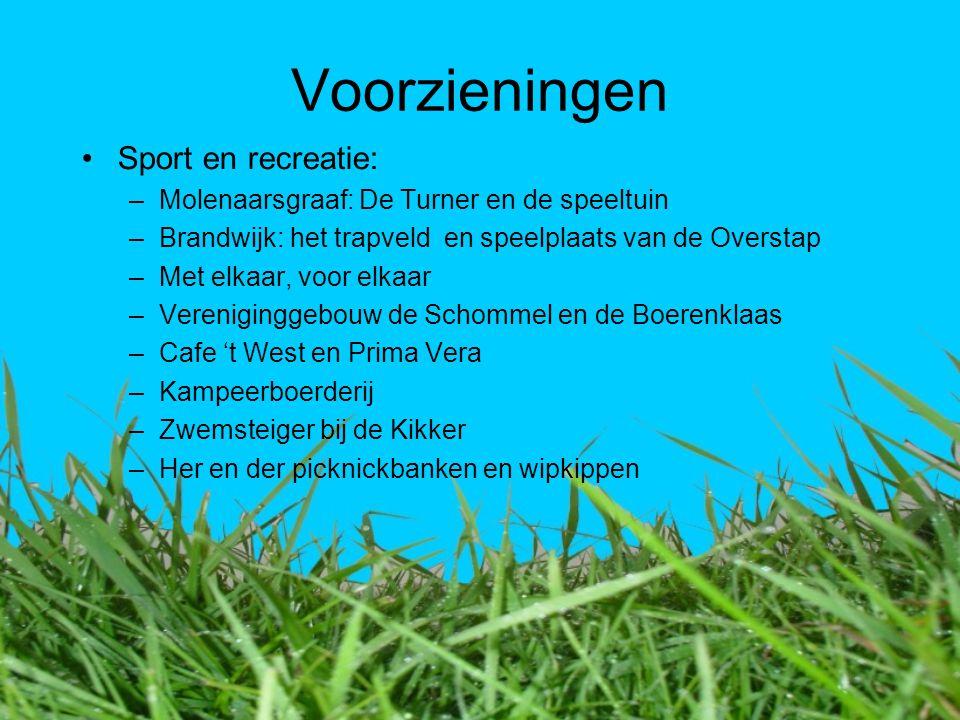 Voorzieningen Sport en recreatie: