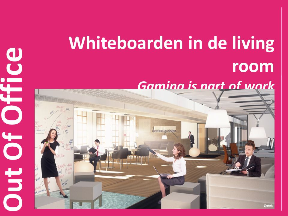 Whiteboarden in de living room